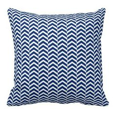 Get ready to shower them with amazing Navy Blue wedding gifts from Zazzle! Chevron Throw Pillows, Decorative Throw Pillows, Orange Chevron, Zig Zag Pattern, Blue Wedding, Accent Decor, Royal Blue, Navy Blue, Cushions