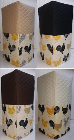 Check out this item in my Etsy shop https://www.etsy.com/listing/231145332/quilted-chickens-roosters-blender-cover