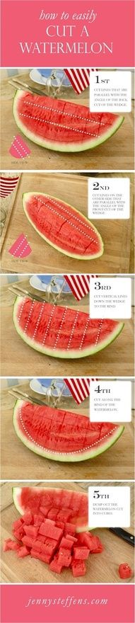 Water Melons== More Great How To Tips @ #dinner