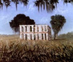 Ruins Of Versailles Plantation, Chalmette, Louisiana