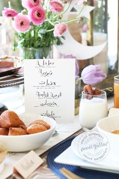 Vom Ramadan inspiriertes Iftar-Abendessen - Sweet Pillar ™ - My CMS Ramadan Sweets, Ramadan Recipes, Ramadan Food, Ramadan Meals, Ramadan Activities, Ramadan Gifts, Iftar Party, Dutch Recipes, Amish Recipes