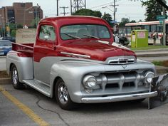 American Muscle Cars… 1951 M-1 Mercury Pickup #classictrucks