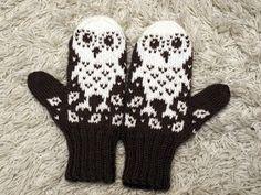 KARDEMUMMAN TALO: Jouluksi Knit Mittens, Knitting Projects, Knit Crochet, Gloves, Crafty, Hats, Pattern, Scarves, Ideas
