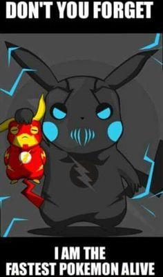 The Flash vs Zoom (Pokemon Version)