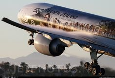 Air New Zealand - Boeing 777-300ER ZK-OKP @ Los Angeles Int'l Airport KLAX, USA.