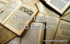 I love an old book.