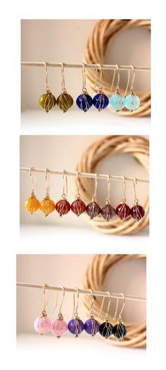 FREE shipping  Spring fresh earrings 14K GF  choose by anthology27, $21.95