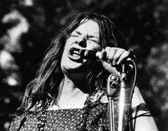Janis Joplin cantor rock e blues americano