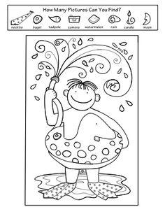 265 Best Hidden Picture Puzzles Images Kindergarten Hidden