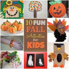 10 Fun Fall Activities for Kids