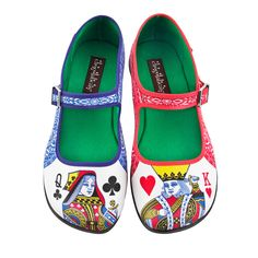 Chocolaticas Lady Poker Women's Mary Jane Flat