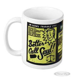 Breaking Bad Better Call Saul! Mug  Available on http://www.closeup.de