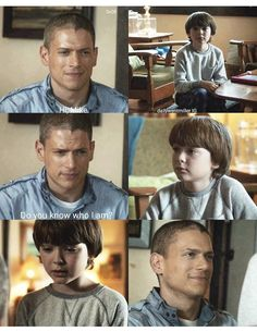 """""""Hi, Mike. Do you know who I am?"""" - Father and son, reunited #PrisonBreak (by dailywentmillerIG)"""