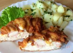 Czech Recipes, Ethnic Recipes, Gnocchi, Mashed Potatoes, Cauliflower, Snacks, Dishes, Meat, Chicken