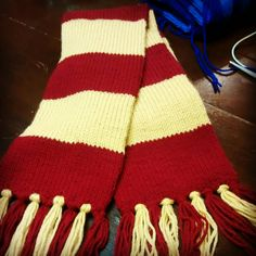 Get your Harry Potter inspired scarf here! Harry Potter Scarf, Chair Socks, Shops, Knit Dishcloth, Ravenclaw, Knitting Needles, Leg Warmers, You Got This, Etsy Shop