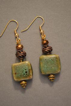 Handmade Earrings by Kellyscharm on Etsy, $10.00