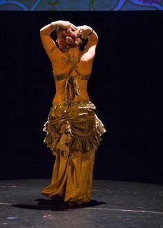 Skirt Tribal Belly Dance Steampunk by VaudevilleGypsy