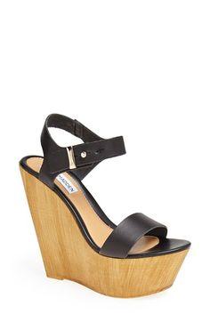 Steve Madden 'Boozey' Wedge Sandal (Women)   Nordstrom