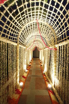 Couple Dancing with Light Bulbs Backdrop floral jaal, floral entrance, floral rangoli, entrance decor Desi Wedding Decor, Wedding Stage Decorations, Wedding Mandap, Wedding Show, Flower Decorations, Wedding Ceremony, Hall Decorations, Wedding Ideas, Wedding Entrance Decoration