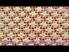Today you will know how to easily crochet stunning Jasmine Flower stitch. This amazing stitch will let you design perfect decoration, ponchos, dress, blankets, Crochet Poncho, Crochet Flor, Baby Blanket Crochet, Free Crochet, Crochet Stitches Patterns, Crochet Designs, Stitch Patterns, Knitting Patterns, Crochet Hat For Women
