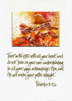 Tender Mercies Scripture Watercolor Print by Susan Crouch