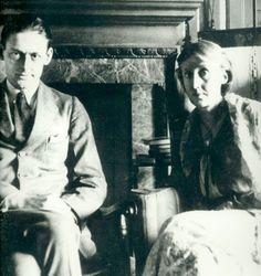 T. S. Eliot with Virginia Woolf