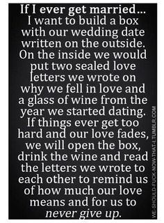 What a wonderful idea .... Love letters and wine