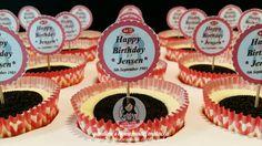 Birthday tags - oreo condenser milk cheese cake