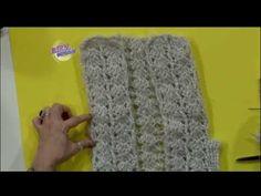 Mónica Astudillo - Bienvenidas TV en HD - Teje un chaleco al crochet - YouTube
