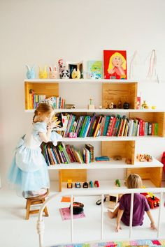 Kids room - Shelves - Via Les Loupiots