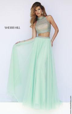 77c575c0b713 Sherri Hill 11220 Dress - MissesDressy.com Event Dresses, Grad Dresses,  Mint Prom