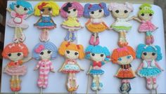 Lalaloopsey cookies