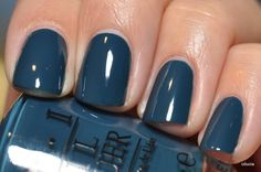 O.P.I: Ski Teal We Drop......this could be my new fall go to color