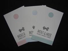 - Visitekaartjes - (label)  Mint & Meer