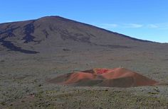 Splatter cone on the flanks of Piton de la Fournaise