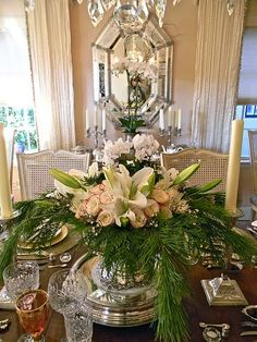An elegant arrangement for the table.