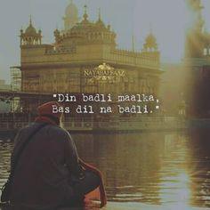 Sikh Quotes, Gurbani Quotes, Life Quotes Pictures, Faith In God Quotes, True Love Quotes, Quotes About God, Punjabi Love Quotes, Devotional Quotes, Religion Quotes