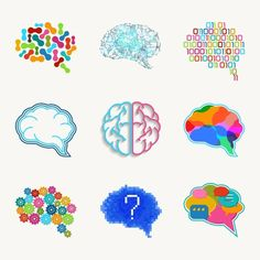 Brain, creation and idea vector icon by Microvector on @creativemarket