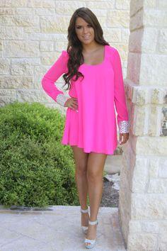 Diamonds are forever dress hot pink Barbie pink dress crystal dress