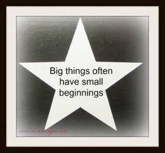 Everyone has to start somewhere. #business #success #mireilleryan