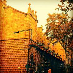 En bild jag tog i Barcelona.