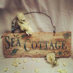Sea Cottage Sign