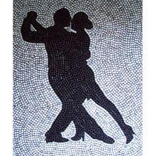 Sheri Lapin mosaic art dancers