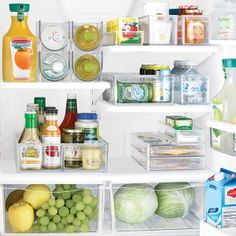 Organize food items in your refrigerator and freezer with our Fridge Binz Trays.