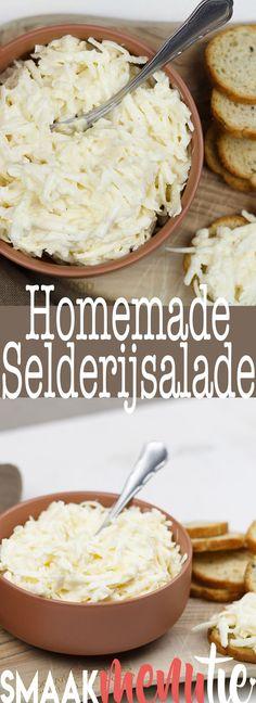 Selderijsalade #recipe #recept #selderijsalade #salade #lunch #vegetarisch