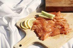 Salmón marinado casero