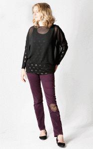 Sheer top & vest - FREE SEWING PATTERN