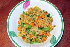 A recipe from my kitchen garden: Vegetable fired rice