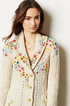 Rose is a Rose Cardigan.  I WANT THIS!!!  It's like my favorite one from last year!  The price is such a whopper though. :(  $198.00