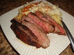Recipes: Woman's Day's steak with stroganoff topped orzo